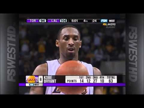 Kobe Bryant 81 Points Game Highlights - YouTube