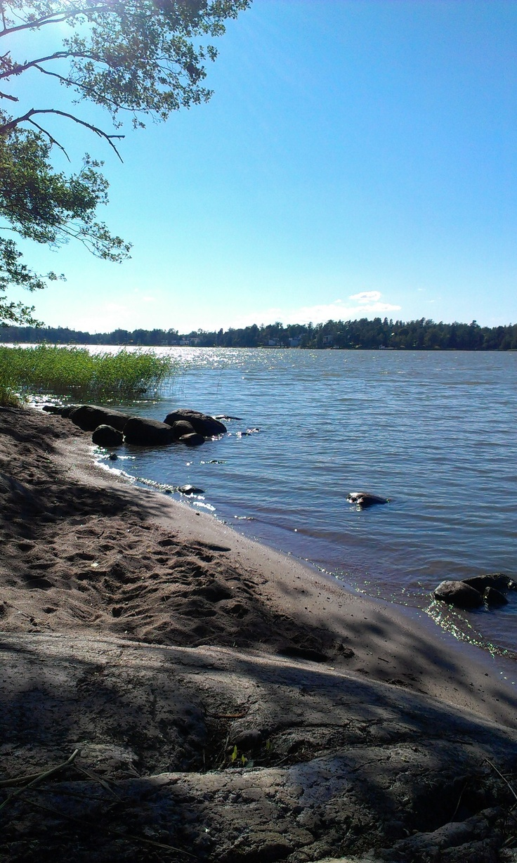 At the beach of Seurasaari