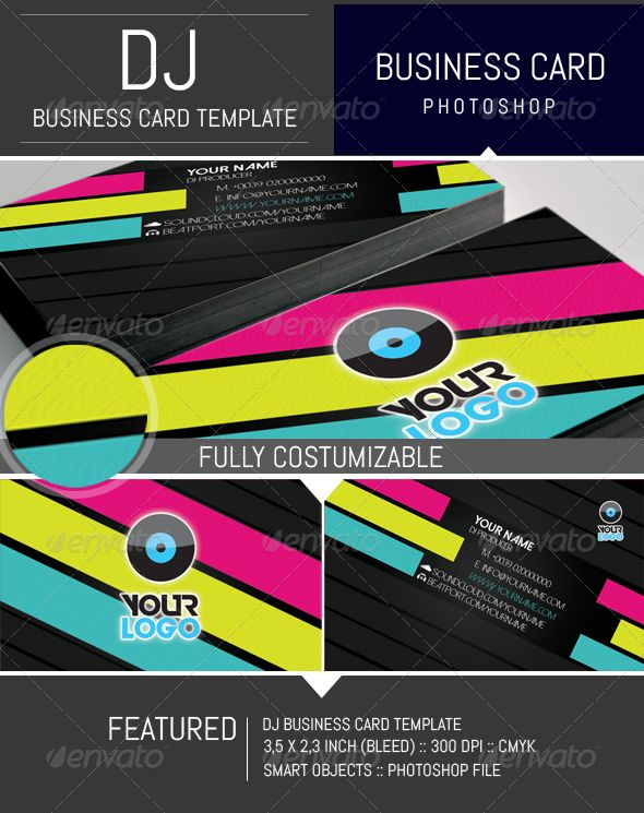 17 Best ideas about Dj Business Cards on Pinterest | Creative ...