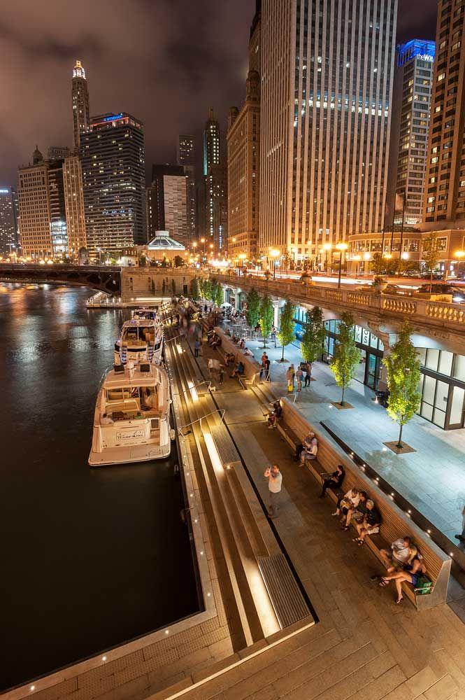 Chicago-Riverwalk_06 « Landscape Architecture Works   Landezine