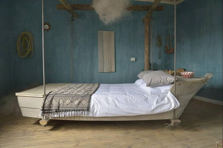 Freakish bed in funky historical building, Woodstock, Cape Town