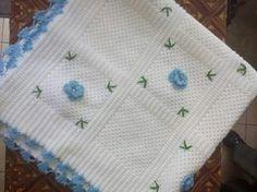 Bebek battaniyesi ve kırlenti el emeğim