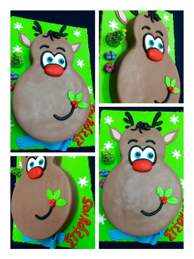 RUDDOLF CAKE!