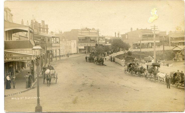 Katoomba early days...