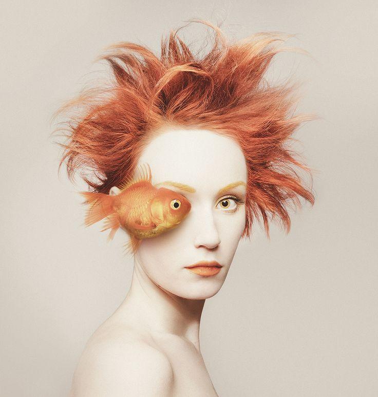 Cultura Inquieta - Animeyed, espectaculares autorretratos de Flora Borsi