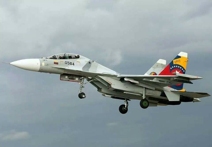 "Venezuelan Air Force Sukhoi Su-30MK2 ""Flanker-C"" in ""50 Years"" livery"