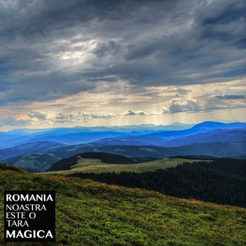 Munții Giumalău, județul Suceava. Fotografia vine de la @andreipolo . Felicitări! #romaniamagica