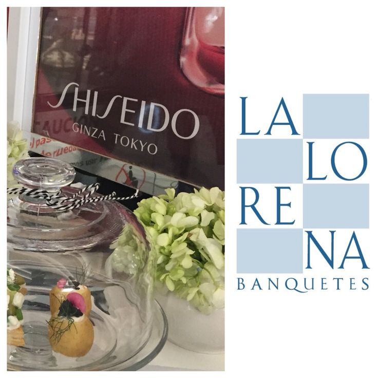 LaLorena Banquetes+Shiseido+Clases Maquillaje... #lalorena #banquetes #shiseido #maquillaje #friday 💋💄🍾❤️