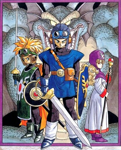 Dragon Quest II cast