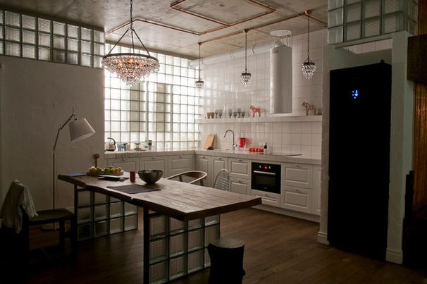 Лофт Кухня by ARCHPOLE