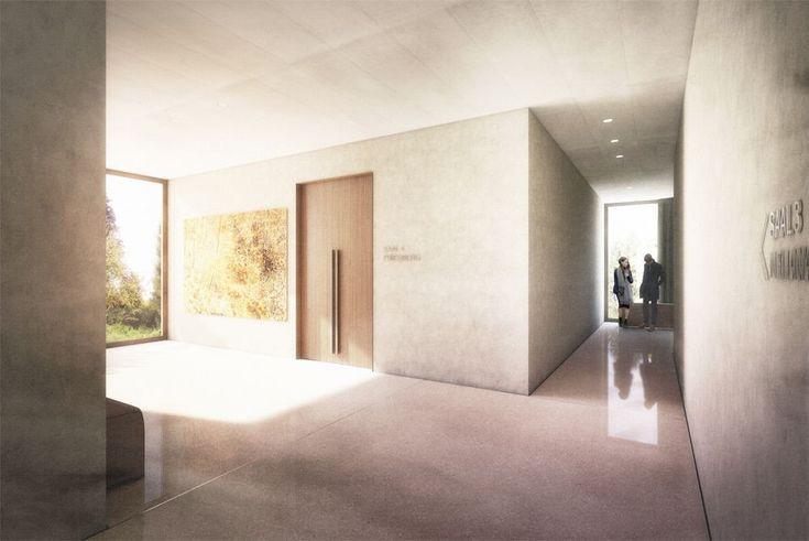 raumfindung Architekten . District Court Extension . Meilen (2)