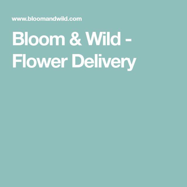 Bloom & Wild - Flower Delivery