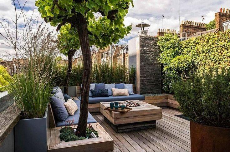 Incredible Roof Garden Design And Ideas