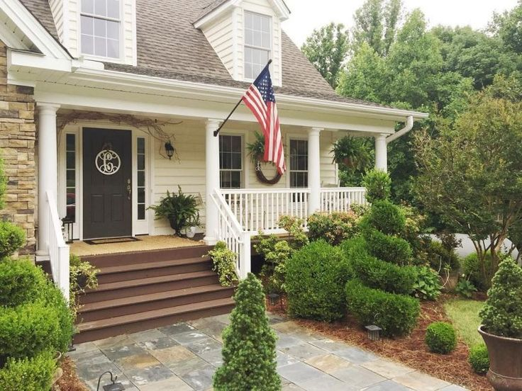 This farmhouse cottage is full of custom details, high ceilings and lots of…
