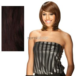 Equal (SNG) Band Full Cap Bounce Girl - Color 99J - Synthetic (Curling Iron Safe) Full Cap Wig
