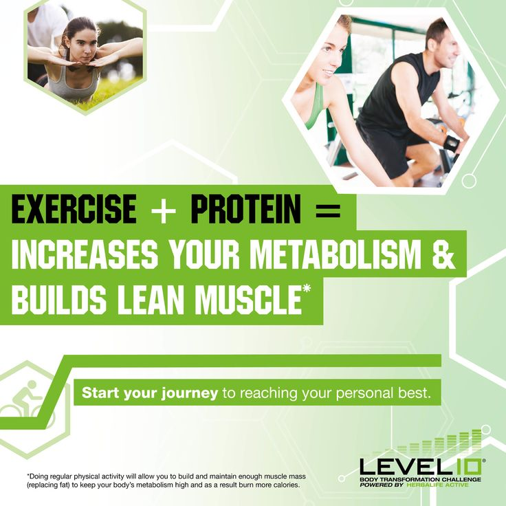 We need #protein! It manages the metabolism that builds & repairs muscle.