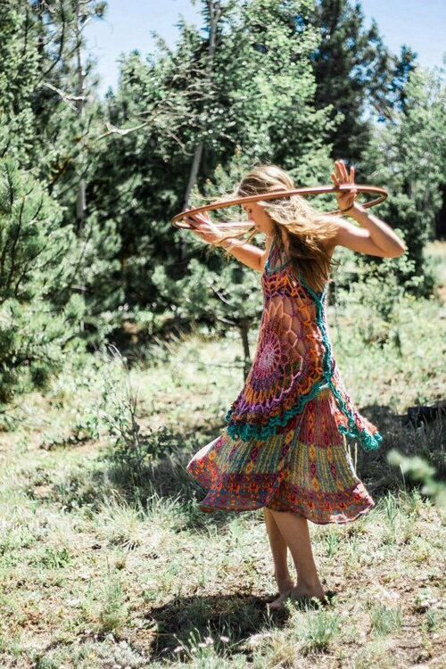 girl hippie hipster indie dance nature