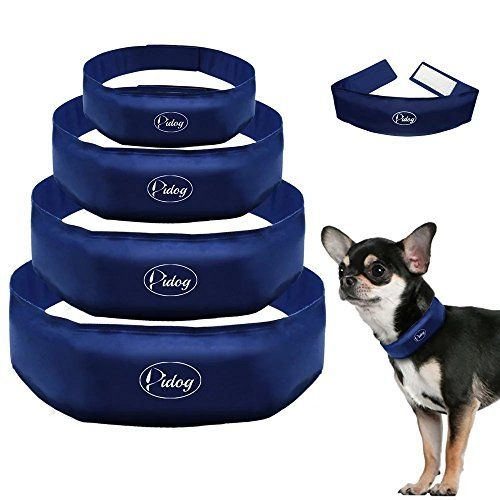 Didog Navy Cooling Dog Collar,Chill Pet Collar for Summer,L Size * Be sure to check out this helpful article.