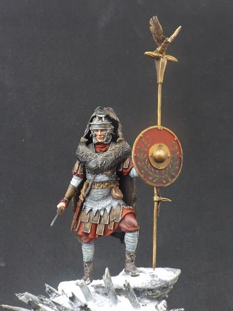 Roman Aquilifer - Ares Mythologic 75mm