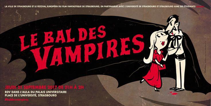 VENEZ DANSER AU BAL DES VAMPIRES AU PALAIS UNIVERSITAIRE ! #Strasbourg