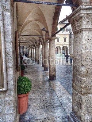 Loggia, open gallery, Ascoli Piceno ,Italy