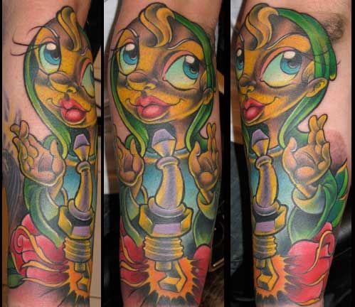New School Pin Up Tattoos | Tattoo Inspiration - Worlds ...