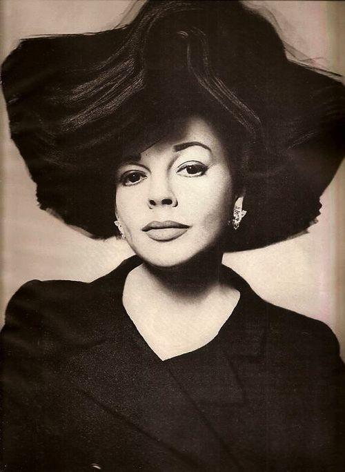 Judy Garland photographed by Richard Avedon.