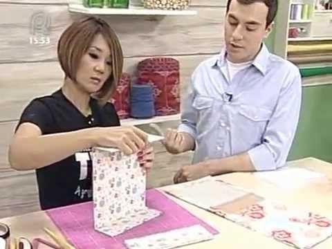 Como fazer uma caixa utilizando a cartonagem - YouTube