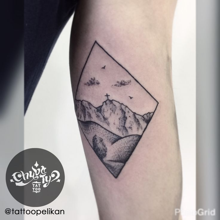 postcard by @tattoopelikan #chybatytattoo #katowice #tattoo #silesia #dotwork #dotworktattoo #dots #dot #dottattoo #darkart #polandtattoos #black #ink #blackwork #chybaty #tatry #mountains #mountainstattoo #mount #mounttattoo #giewont #postcard