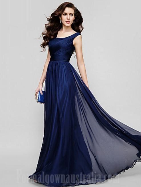 Blue cocktail dress australia