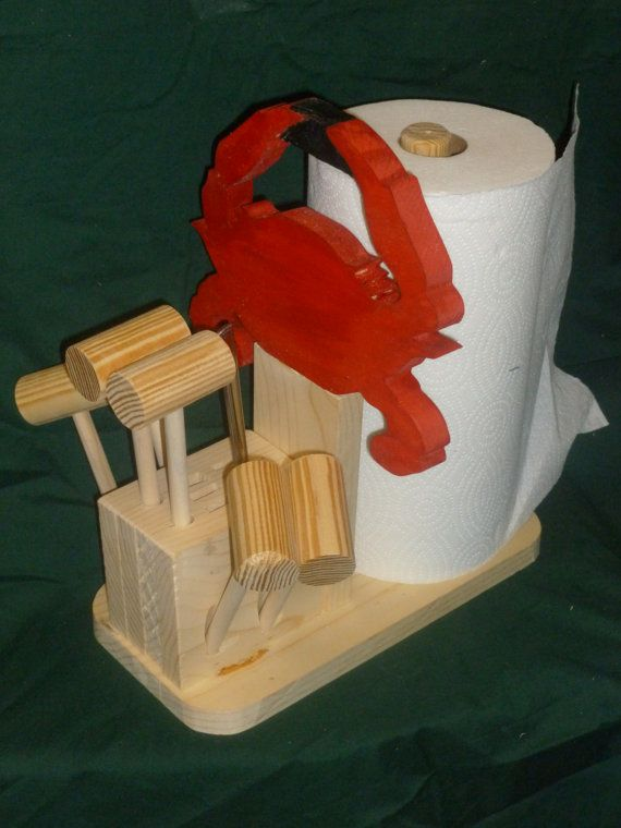 Crab Feast Caddy by johnscripture on Etsy, $29.95