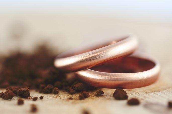 Alianzas de boda Argyor de oro rosa. Las joyas rosas son una tendencia que han llegado para quedarse.