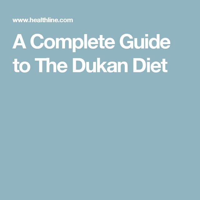 A Complete Guide to The Dukan Diet