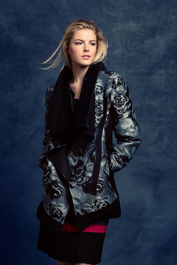 KRISS Fall Collection 2014, Beautiful coat in silver