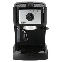 DeLonghi EC152  Pump Espresso 2 Cup Coffee Machine - Black