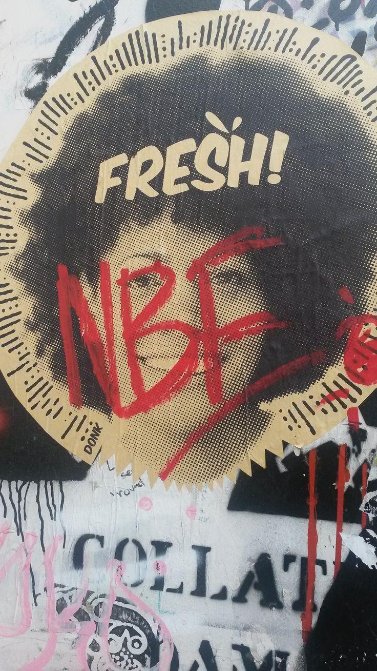 STREET ART IN BRICK LANE - NOV 2015