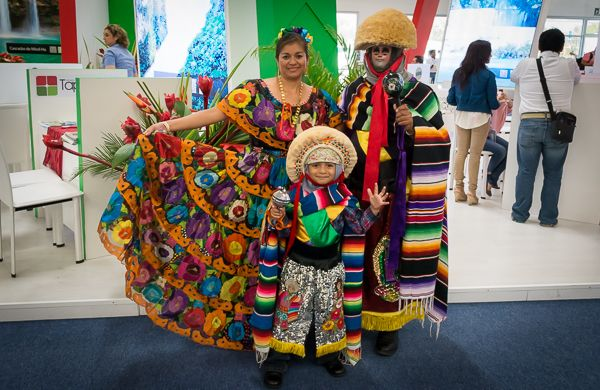 Costumes at Tianguis Turistico, Mexico's largest Tourism event.