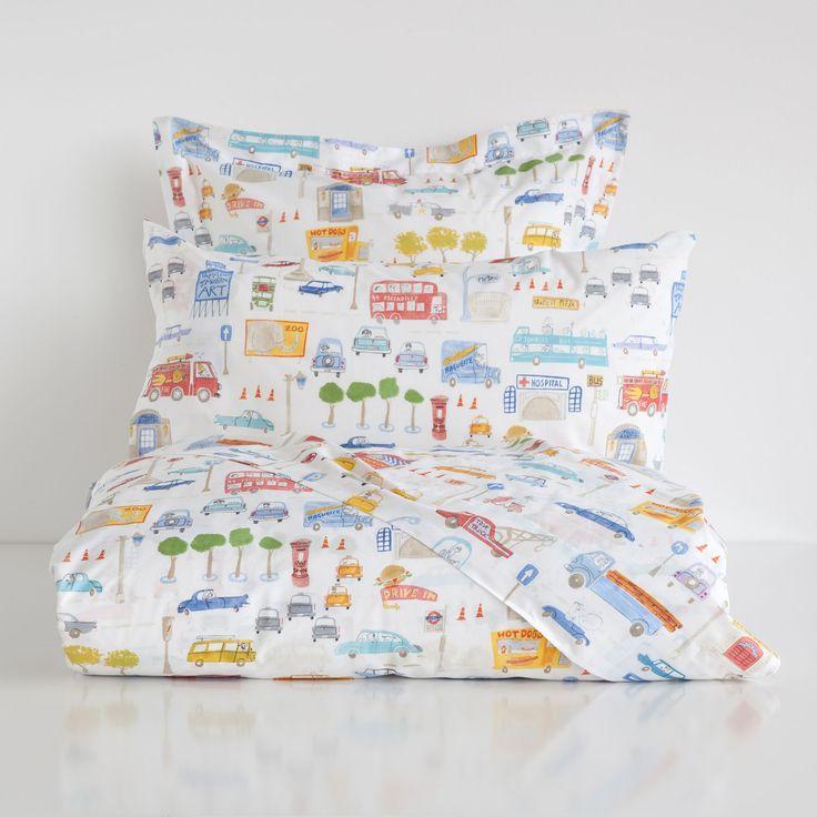 Vehicle print bedding bedding bedroom kids - Ropa de hogar zara home ...