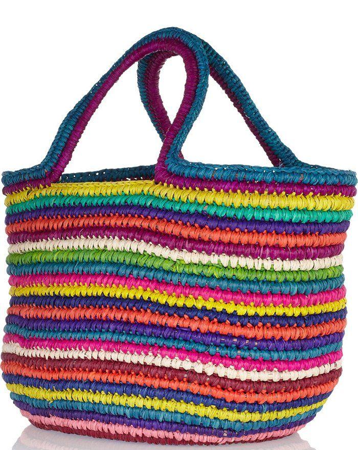 Летняя женская сумка для пляжа, фото