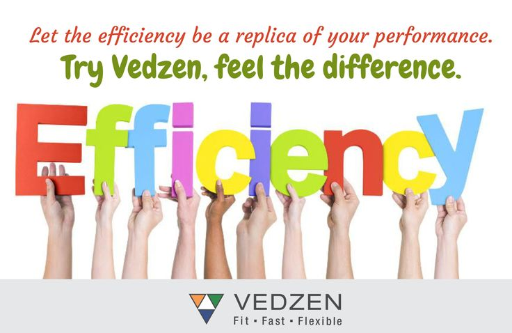 Let the efficiency be a replica of your performance. Try #Vedzen, feel the difference. https://www.vedzen.com