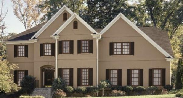 Small House Exterior Paint Design