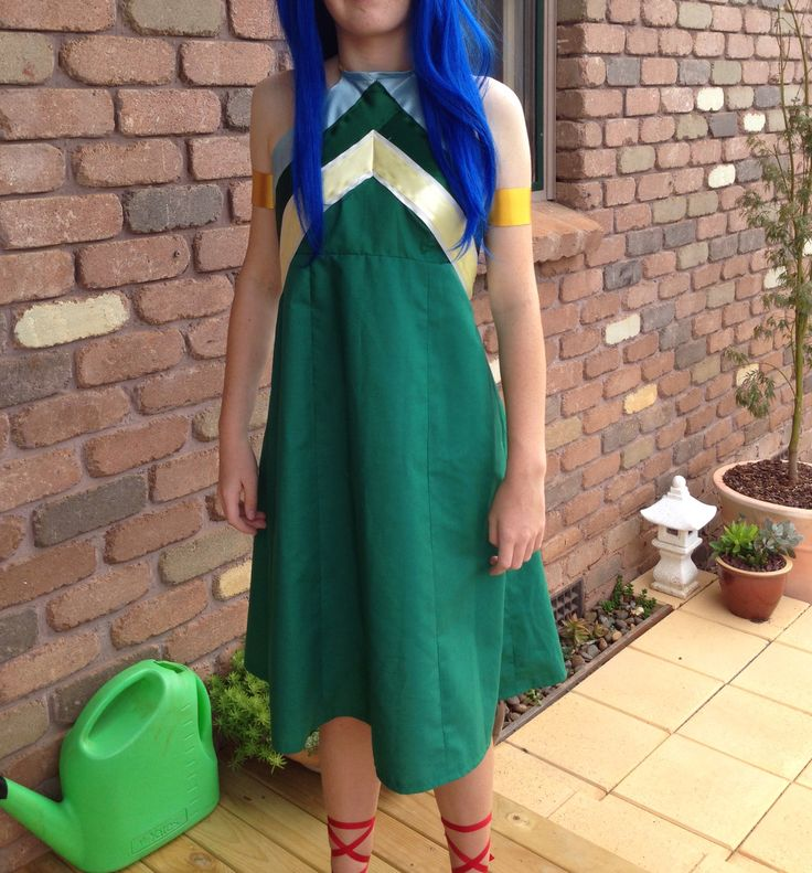 Cosplay costume -Wendy from Fairy Tail.