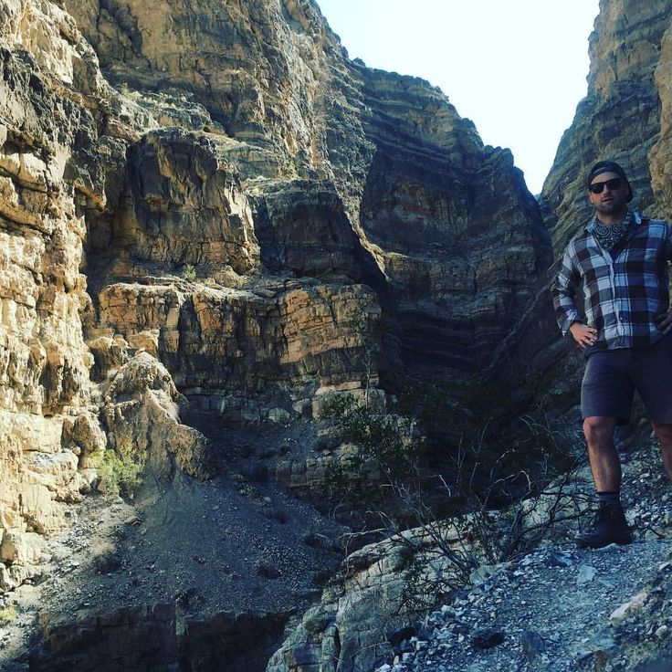 igh in the cliffs above the canyon floor, a sure footed and playful creature pauses for a selfie in his natural habitat. #10secondtimer