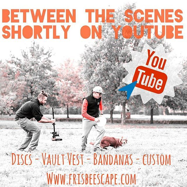 Are you readyyyy??? Soon on Youtube the FE's Video spot.  #k9sport #k9 #canine #design #fetch #discdog #vault #vaultvest #fe #youtube #bordercollie #video #bandanas