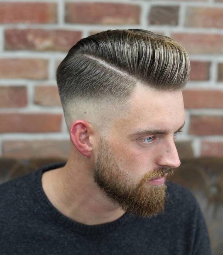 Manner Frisuren 2019 Trendige Pompadour Frisur Fur Herren 2018 Hairstyle Herrenmode Haarschnitt Manner Herrenfrisuren Haar Frisuren Manner