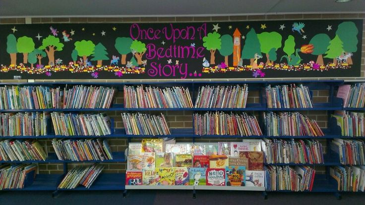 Fantasy fairytale themed children's library display ...
