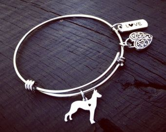 Doberman Charm Bracelet | Doberman Jewelry | Doberman Bracelet | Doberman Mom | Doberman Lover Gift | Doberman Rescue | Foster & Transport