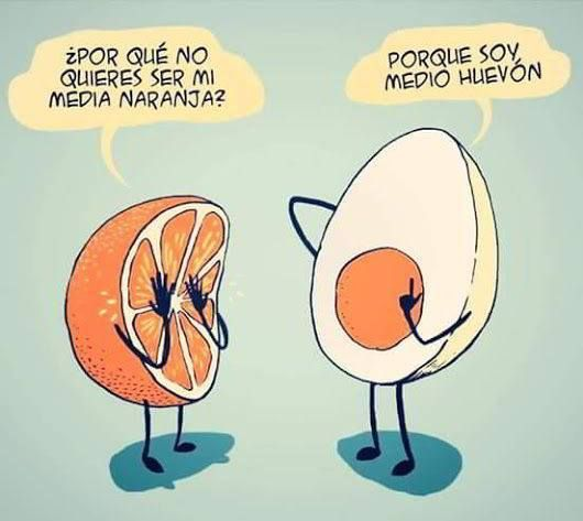 """""""Media naranja"""""""