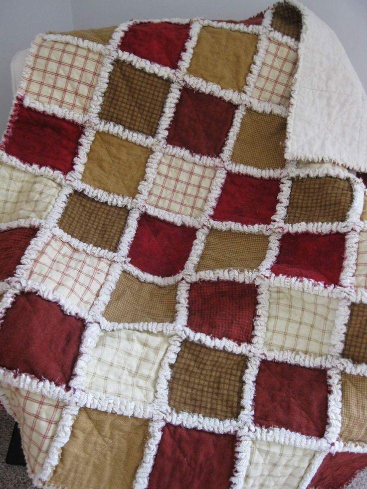 Flannel rag quilt COLOURS