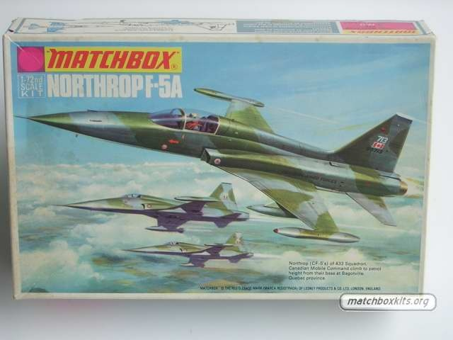 72 northrop f 5a by matchboxmodels planes boxes art northrop f 5a
